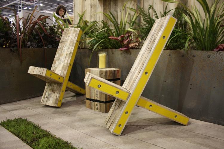 Comment fabriquer un fauteuil en palette pour