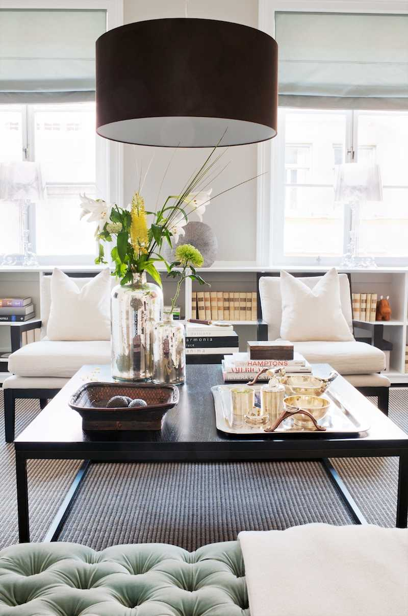id es luminaires salon ambiance salon chic 40 id es d co salon sophistiqu es et bien. Black Bedroom Furniture Sets. Home Design Ideas