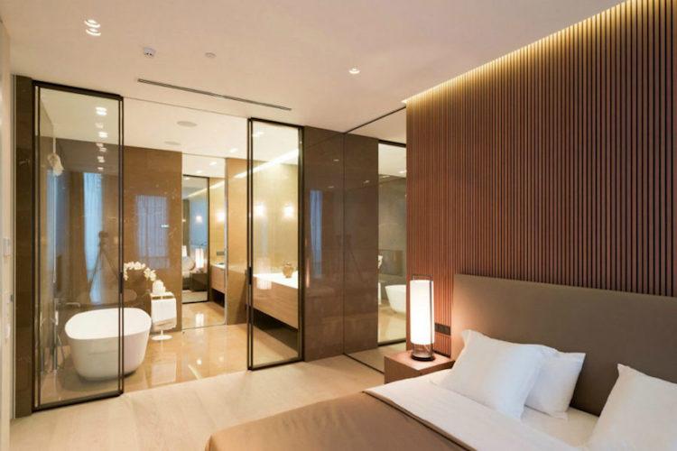 Chambre avec salle de bain  sinspirer de certains des