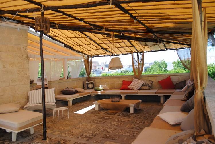 Rideaux Pour Terrasse Couverte | Gartenbois