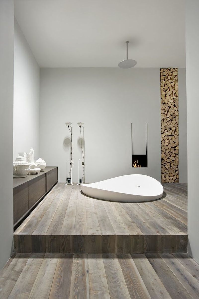Ide dco salle de bain bois 40 espaces cosy et chics qui en imposent