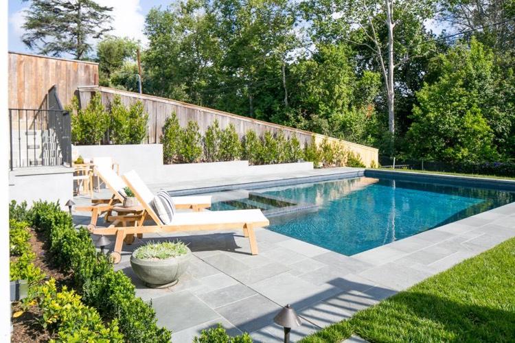 Palissade jardin pour dlimiter lespace et prserver lintimit