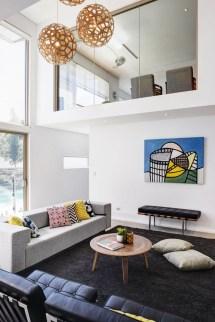 Rectangle Shaped Living Room
