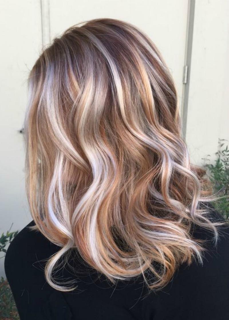 balayage ombre blond idees 2017 pour tout type et longueur de cheveux