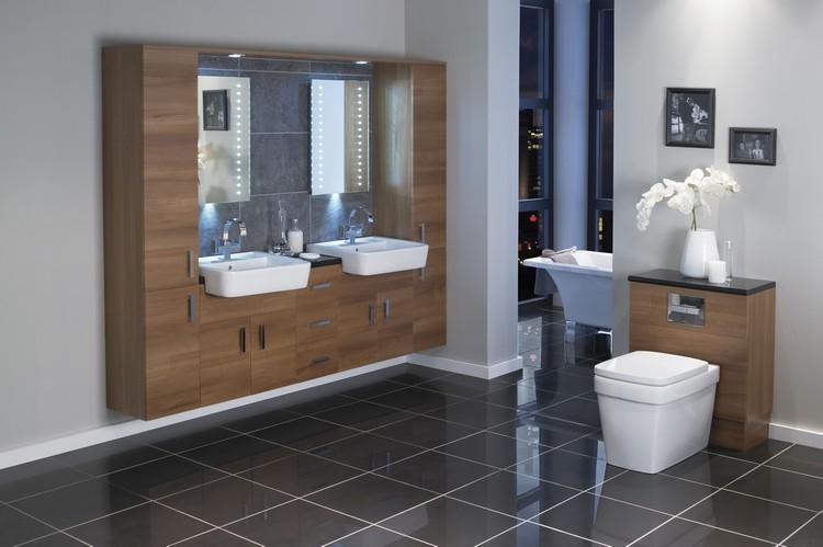 meuble salle de bain moderne en 40