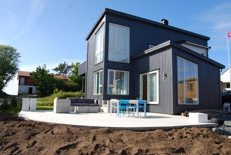modele de terrasse exterieur beton