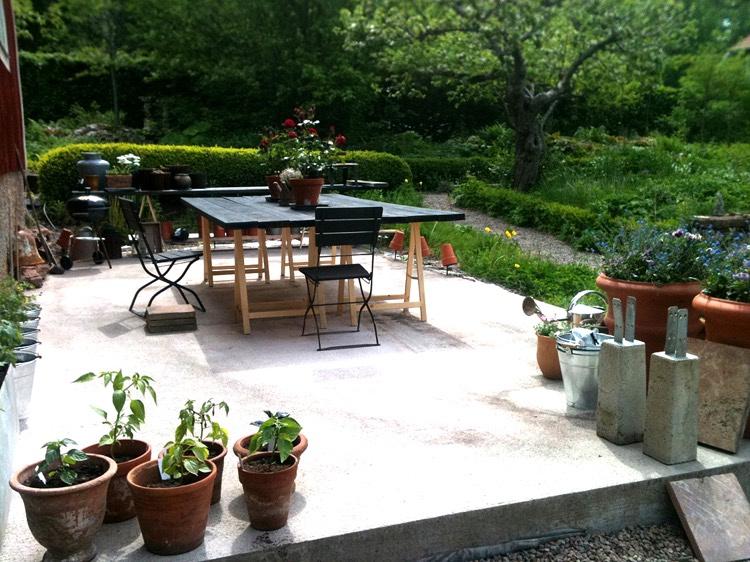Awesome Table De Jardin Resine Beton Contemporary - Amazing House ...