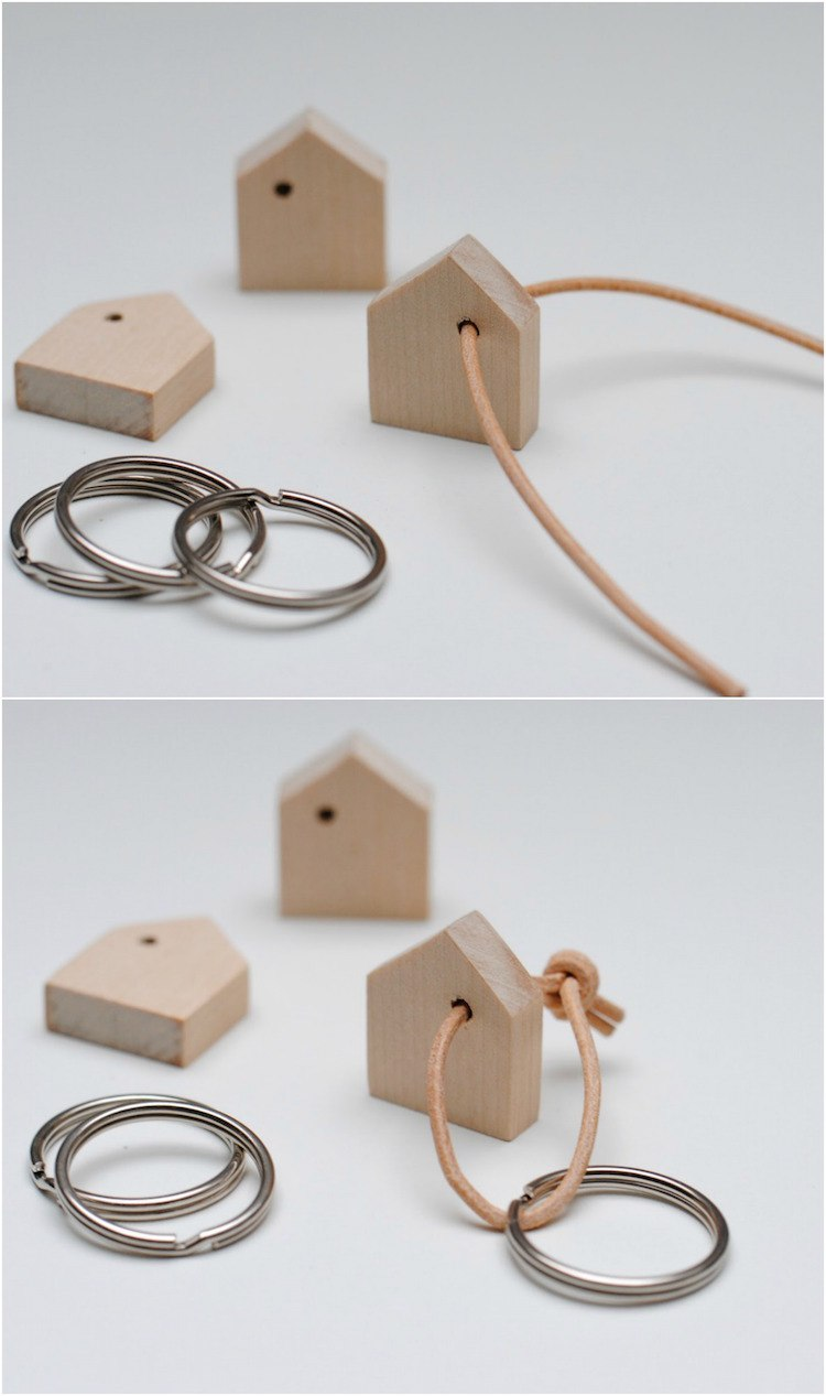 Fabriquer Un Porte Clé Mural Diy Un Tasseau De Bois Recyclé En