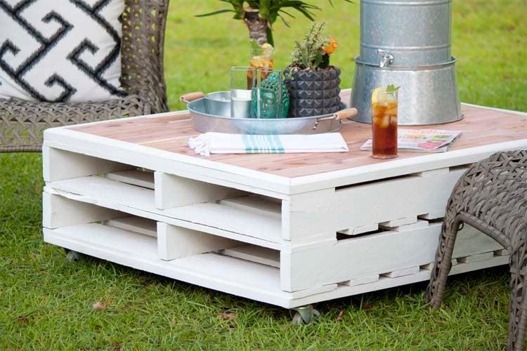 Fabriquer salon de jardin en palette de bois  35 ides cratives