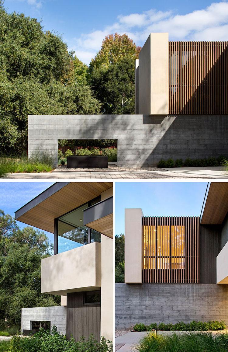 Moderne Terrassen Beton