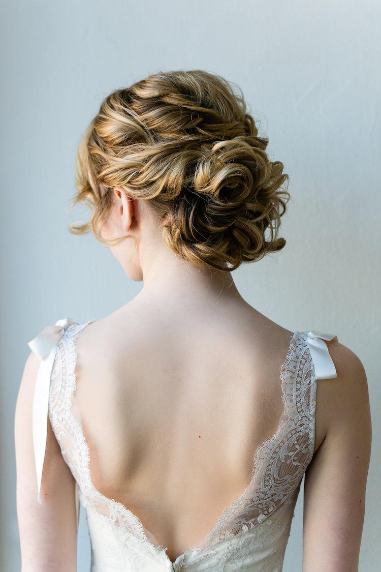Coiffure Mariage Cheveux Mi Long Dégradé