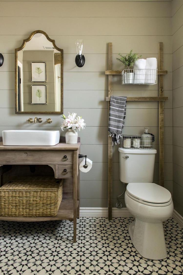 salle de bain campagne revisitee ou le