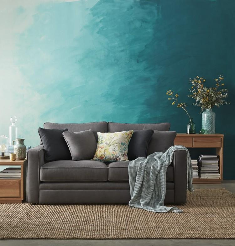 Bilder Wohnzimmer Farbverlauf