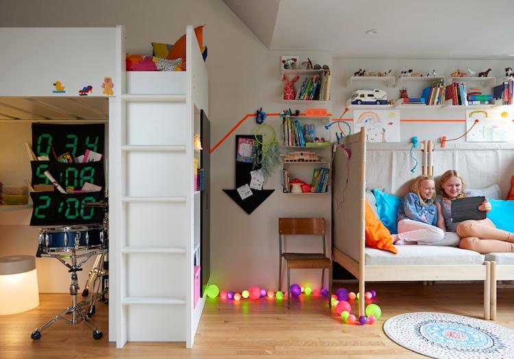 chambre enfant ikea idees enfants tous les ages idees chambre enfant ikea union de meubles pratiques et decoration coloree