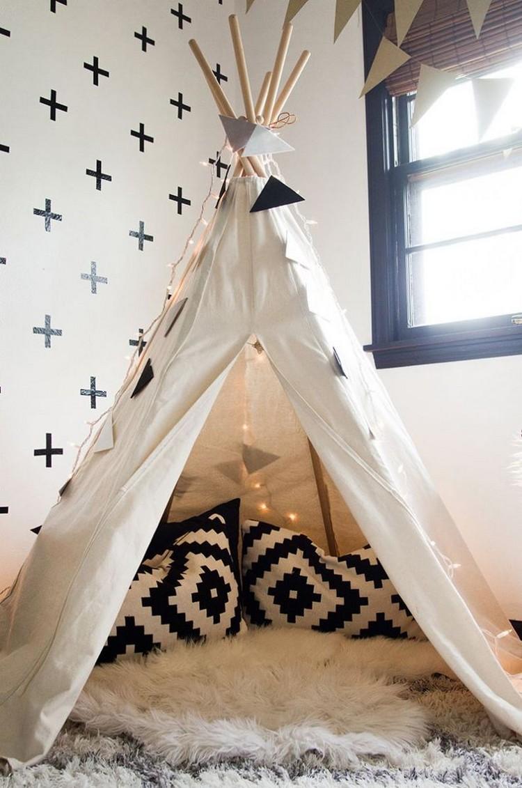 chambre enfant tipi magnifique chambre vertbaudet les nouveaut s d co pour la enfant. Black Bedroom Furniture Sets. Home Design Ideas