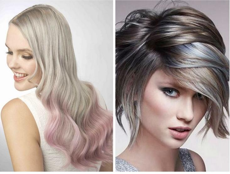 Coupe Courte Cheveux Blond Cendre - Modele Tresse