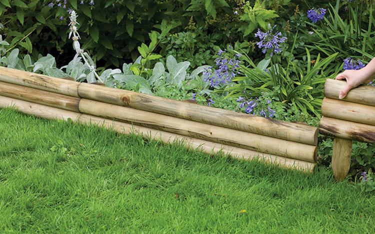 Bordure de jardin  focus sur les diffrents matriaux et leurs caractristiques propres