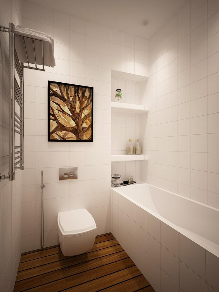 Petite salle de bain scandinave  profitez de lesthtique du charme nordique