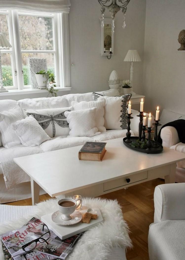 D 233 Co Romantique Salon En 10 Id 233 Es Au Style Shabby Et Plus