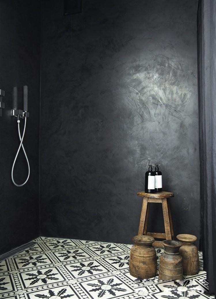 salle de bain noire 25 idees afin de
