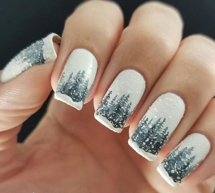 Idee Deco Ongles Pour Noel Stunning Decoration Ongle Gel