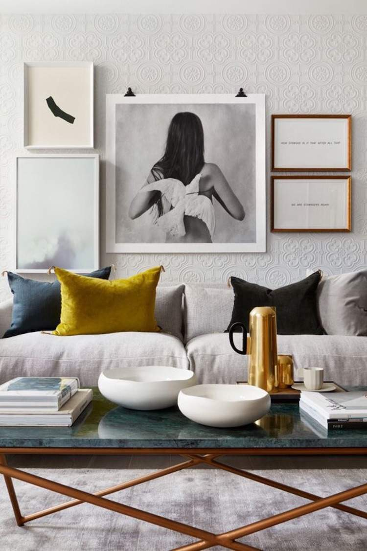 violet colour sofa with chaise longue ikea tendance déco 2018 : le jaune curry nous en fait perdre la ...