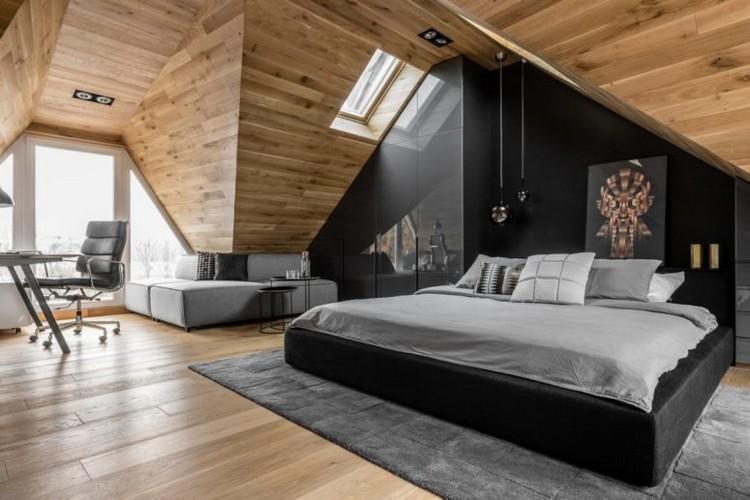 Comment le lambris plafond bois participe  la dco cosy