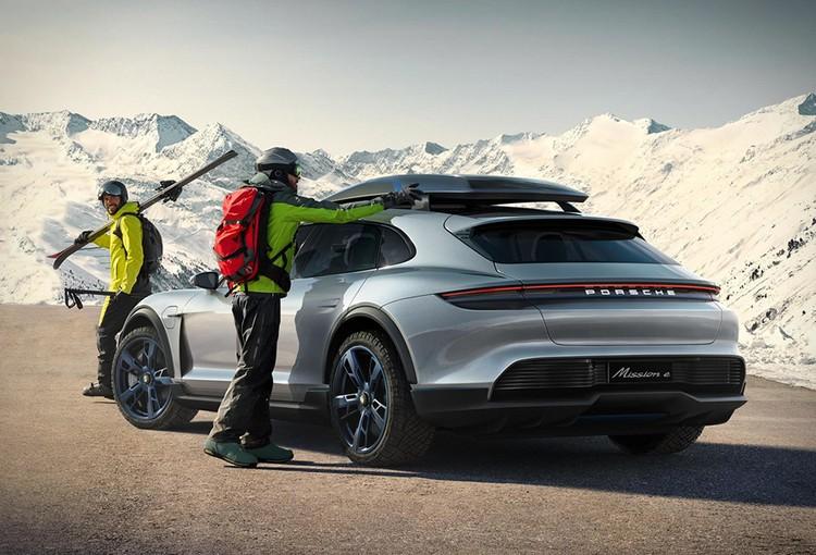 Porsche Mission E  dtails sur le premier modle lectrique de la marque