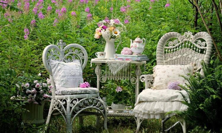 jardin romantique idees d amenagement