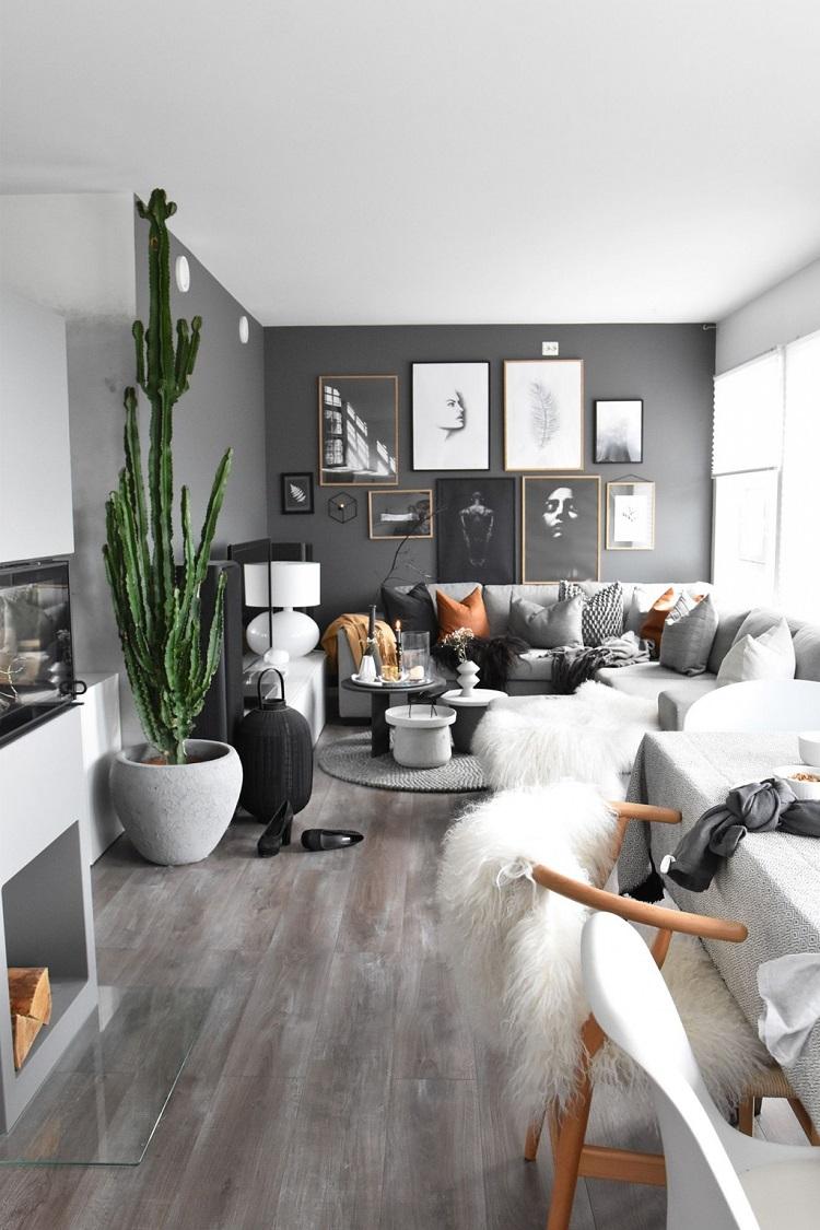Salon blanc et gris  un tas de nouvelles inspirations pour une dco russie