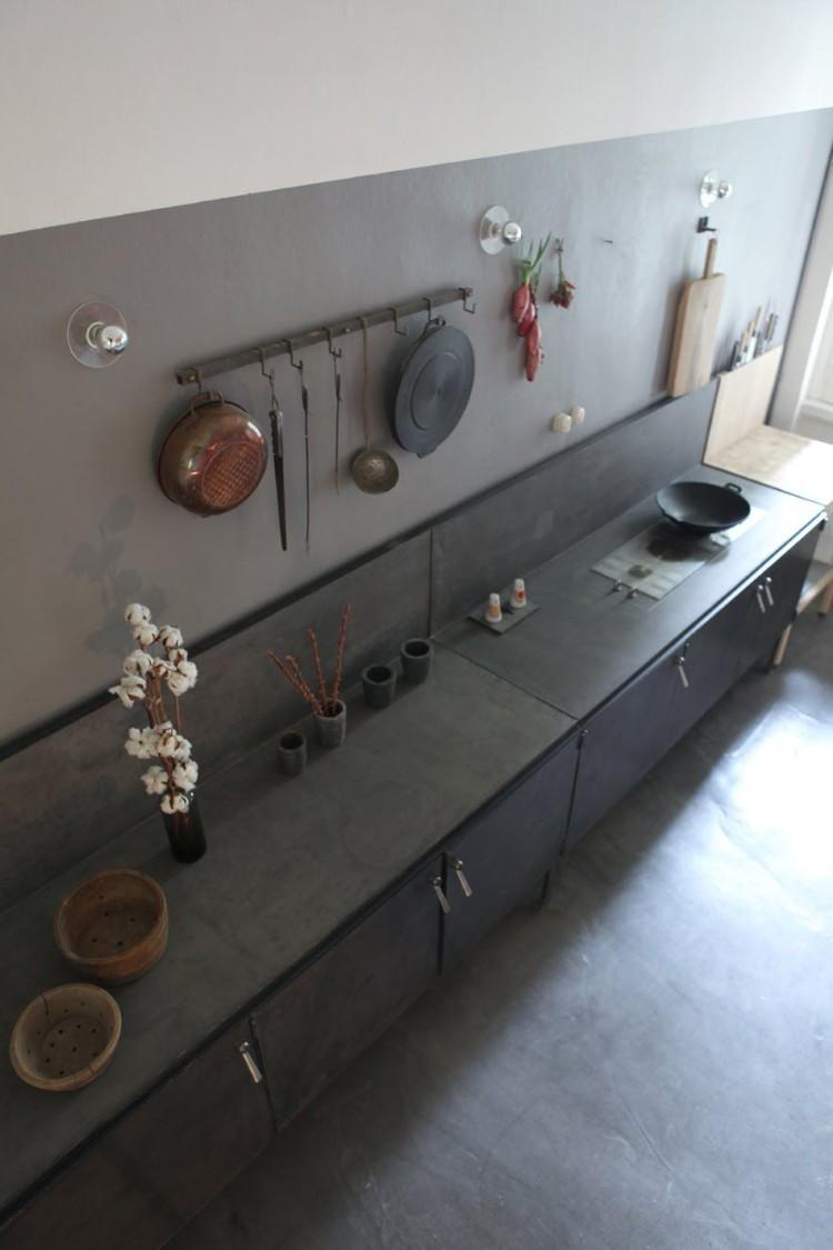 plan de travail cuisine extérieure
