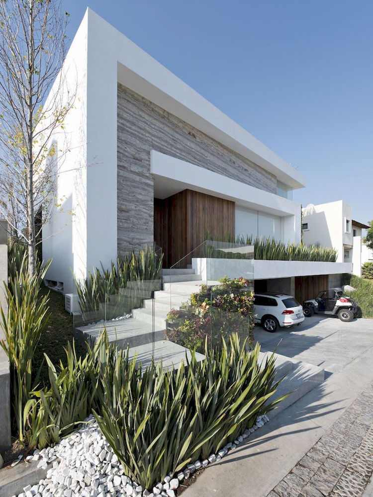 idee amenagement jardin devant maison