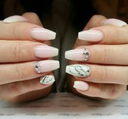 ongle forme ballerine ides pour