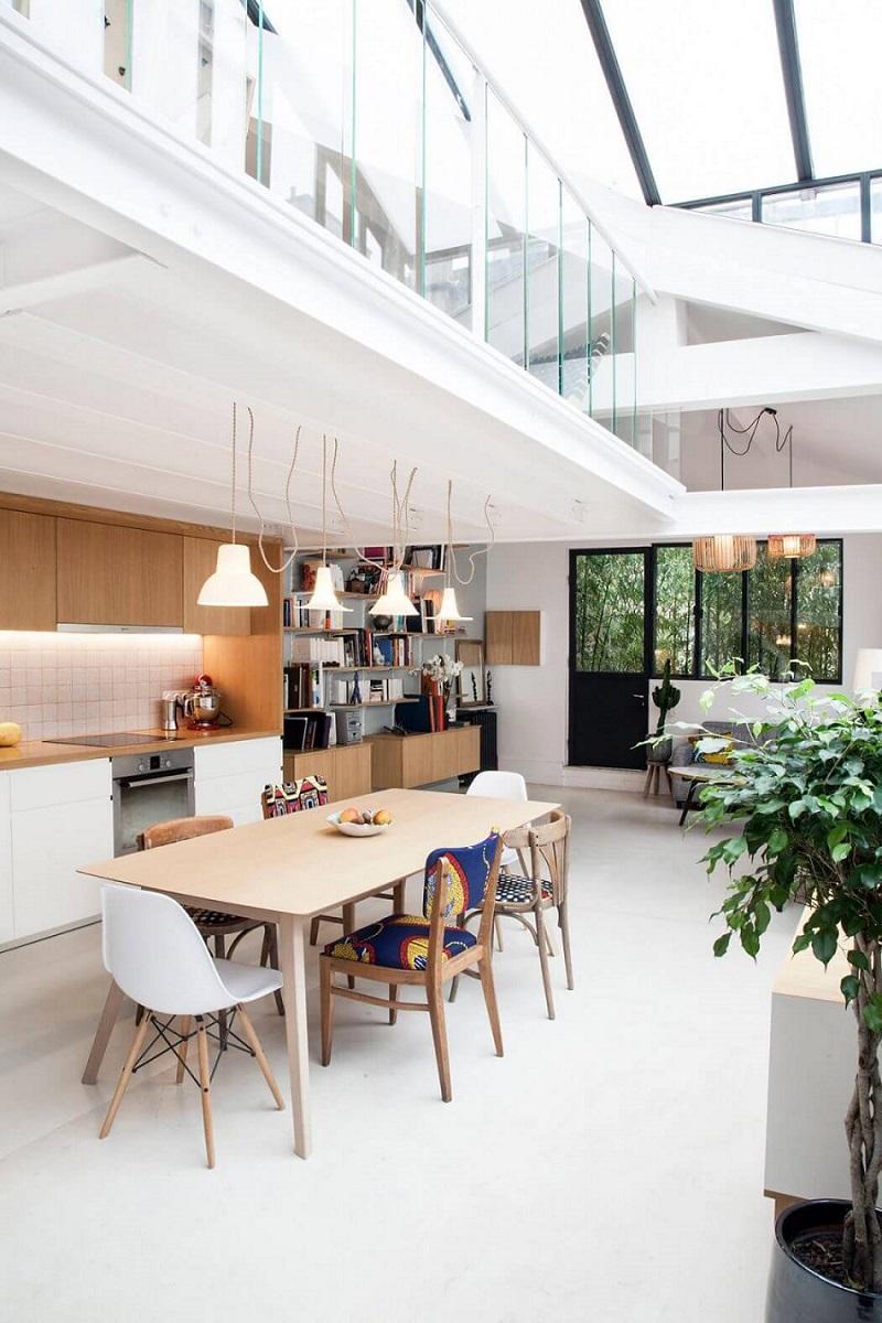 Decoration Salon Moderne Scandinave | 3d Rendent La ...