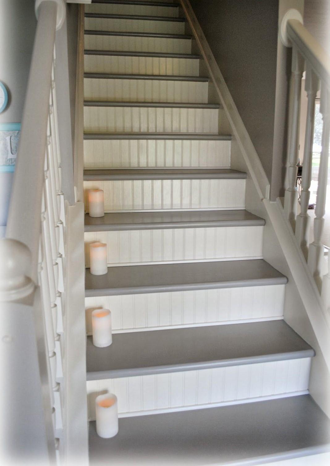 Escalier Peint Idees Pour Reussir La Renovation De La Cage Escalier