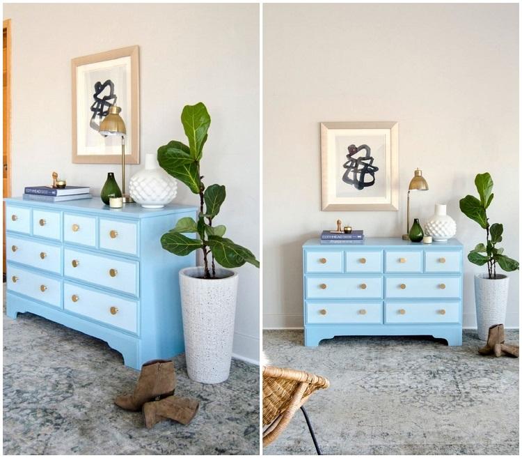 peindre un meuble vernis pas a pas le