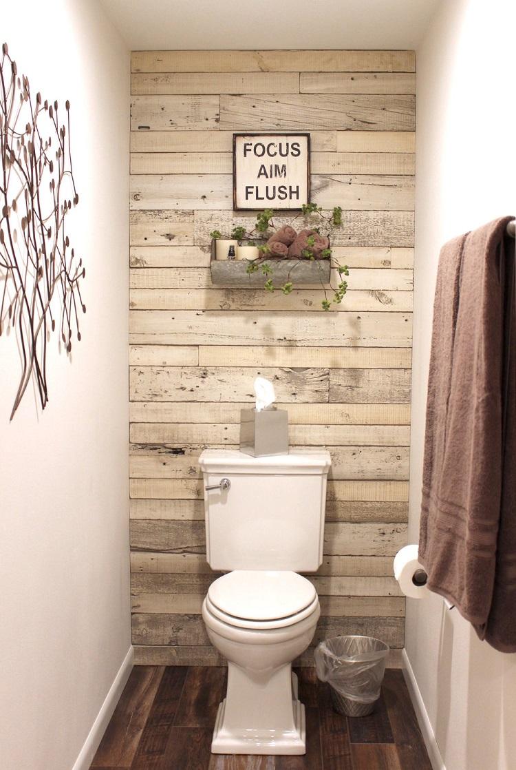 decoration toilettes originale pour