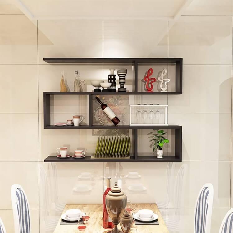 etageres de cuisine murales 20 idees
