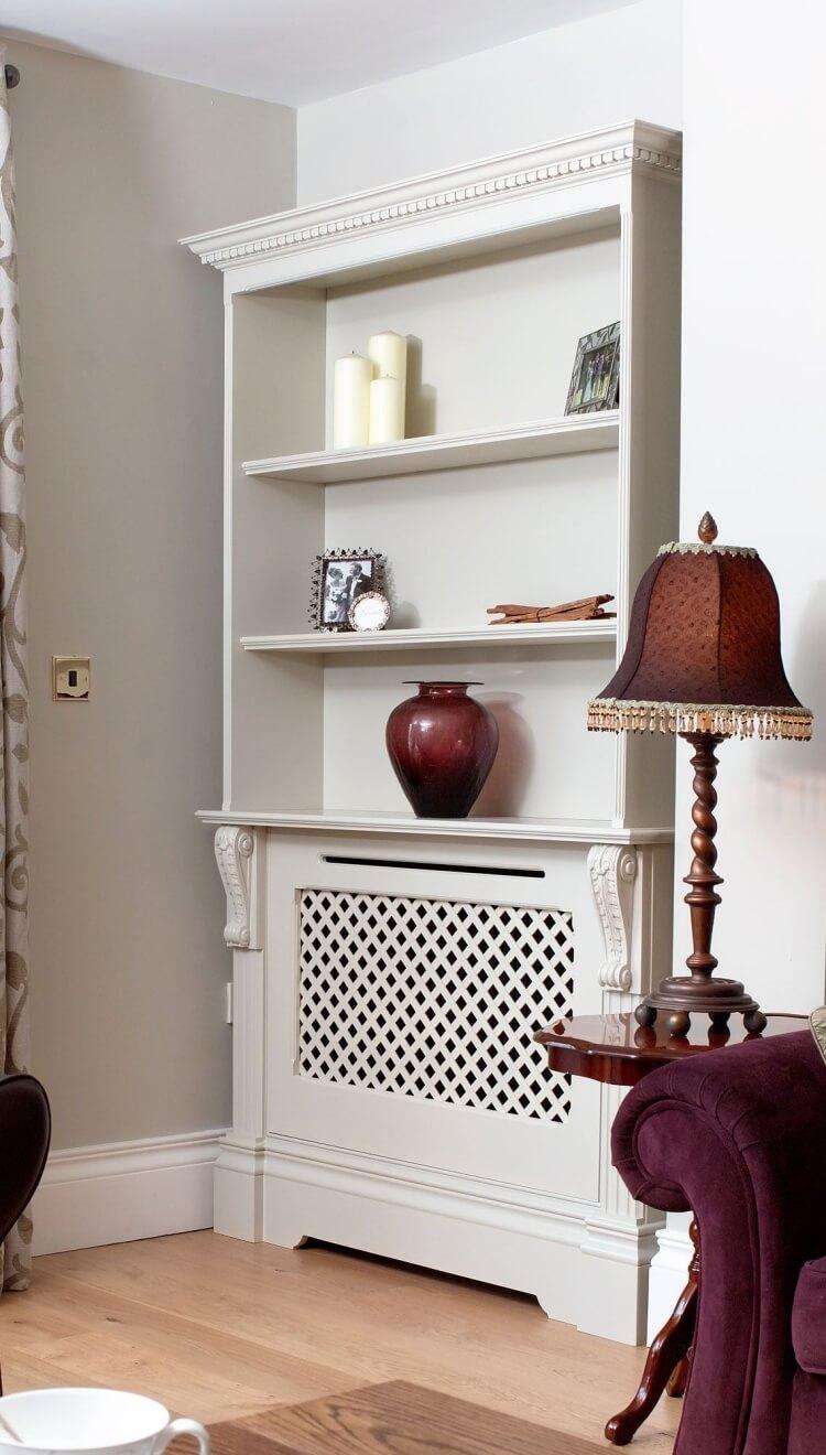 comment cacher un radiateur pour ne pas