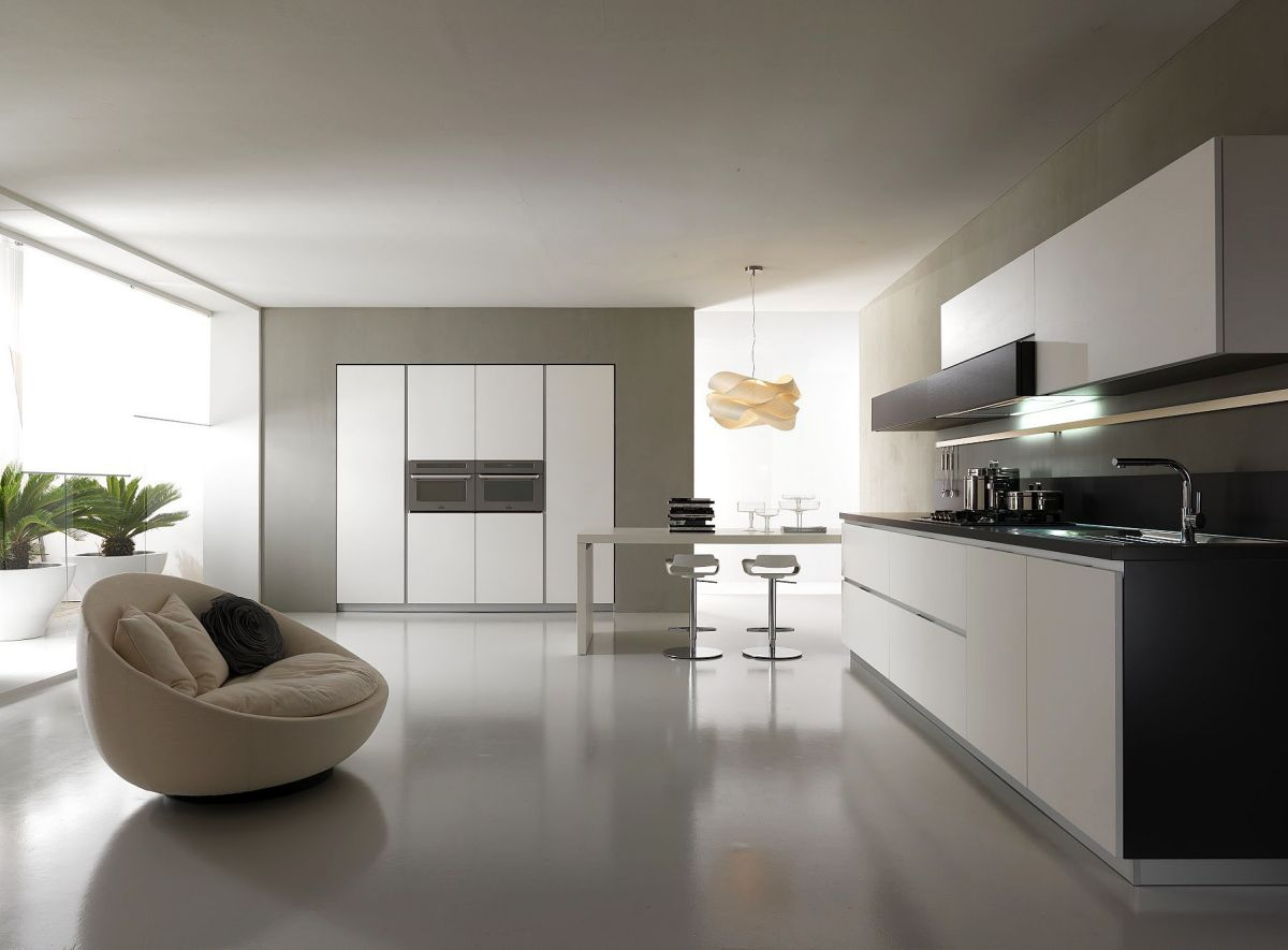 contemporary kitchen design island breakfast bar 33 modern white and minimalist designs