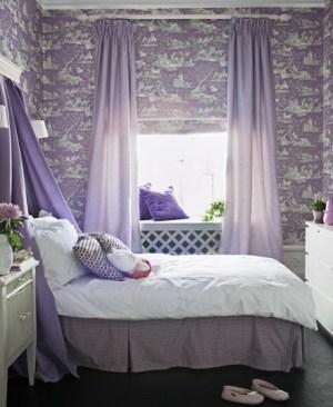 purple bedroom interiors luscious shabby deep chic