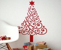 Christmas wall decoration ideas - nice and easy family ...