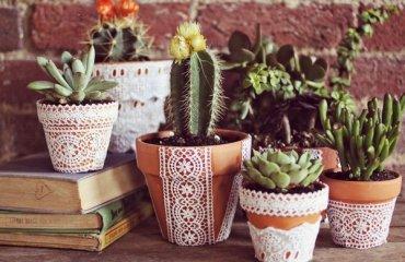 Fabric Planter Diy Click Through For Tutorial