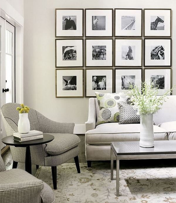 decorating living room wall pictures of small elegant rooms how to arrange a photo tips and creative ideas art decor modern furniture neutral colors