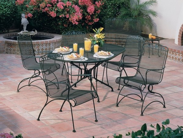 wrought iron patio furniture dining sets 40 wrought iron patio furniture sets for a stylish outdoor area