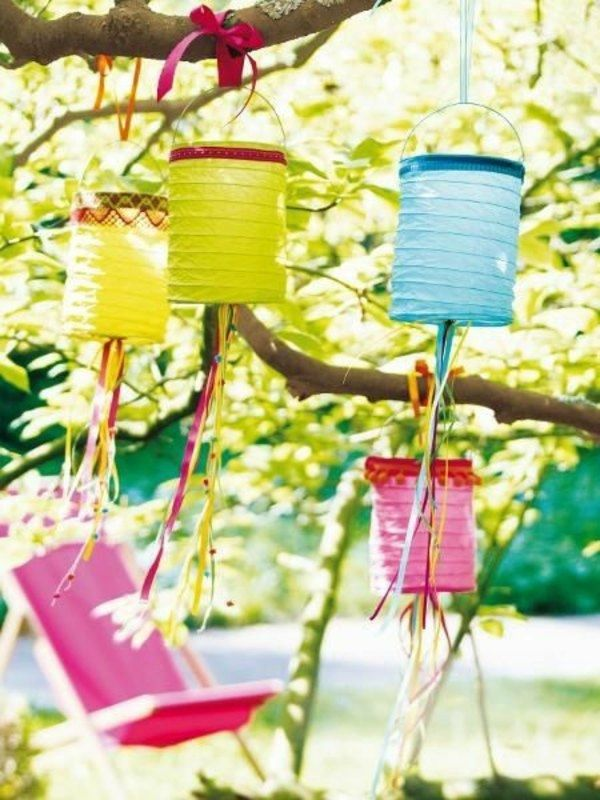 Tree Decorations For Garden Party Stylish Decorating Ideas