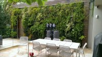 Privacy fence or garden wall - 112 landscape ideas