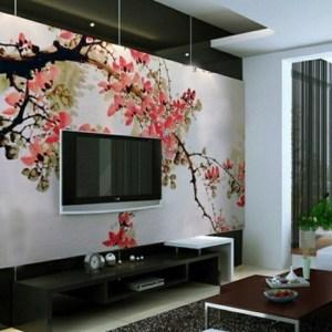 living wallpapers japanese interior idea decoration furnishing