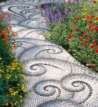 Garden gravel paths design - Ideas for a gravel path in ...