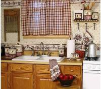 Kitchen curtains - modern interior design ideas
